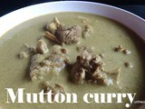 Mutton curry i Mutton saaru