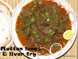 Mutton Lungs and liver fry