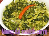 Radish Greens Moong Dal Curry