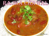 Rajma chawal recipe i Rajma curry with rice