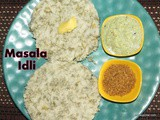 Sabsige soppina idli i Masala Idli with Dill leaves recipe