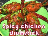 Spicy chicken drumstick recipe