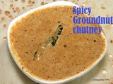 Spicy Peanut Chutney recipe