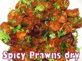 Spicy prawns dry recipe