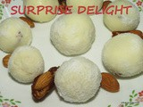 Surprise Delight i Dates and almond Laddu without fire or oven