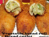 Veg bread roll recipe