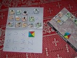 Activity for kids - Alphabet Stickers