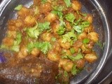 Punjabi Chole / Chana Masala / Spicy Chickpeas (Garbanzo beans) Step by Step Recipe