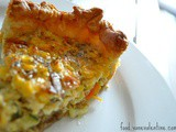 A new vegetarian quiche combination