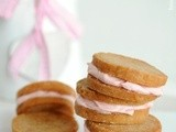 Almond and Mascarpone Sandwich Cookies