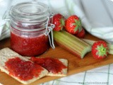 Easy self-made Rhubarb and Strawberry Jam