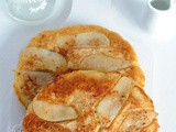 Pear and Oatmeal Pancakes