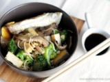 Shiitake, Broccoli, Ginger & Tofu Noodles