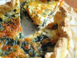 Spinach, semi-dried Tomatoes & Feta Quiche