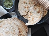 Swedish Soft Flatbread with Oatmeal