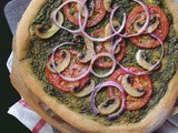 (Vegan) Pesto Pizza – Meatless Monday Recipe