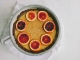 Blood orange pie