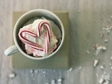 No-churn candy cane ice cream