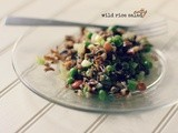 Nutty wild rice salad