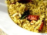 Upma with Pearl Millet
