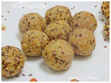 No Bake Oats and Peanut Ball/Ladoos(Step by Step with photos)