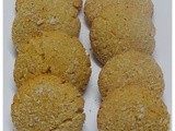Whole Wheat Coconut Cookies-Eggless Coconut Cookies Recipe