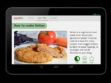 Vegan Nom Noms' How to Make Seitan app, coming soon to a smart phone near you