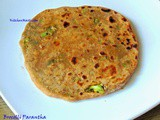 Broccoli Paratha / Parantha Recipe