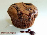 Eggless Chocolate Muffins ( Cup Cake ) Recipe