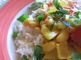 Canary Bean Coconut Curry