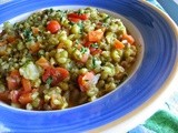 Mung Bean Brown Rice Masala