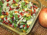 Pomegranate Rice Salad