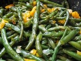 Savory Whole Green Beans