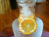 Simple Orange Water Quenches Thirst
