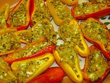 Stuffed Sweet Mini-Peppers