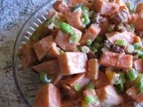 Sweet Potato Apricot Salad