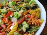 Zesty Vegetarian Pasta Salad