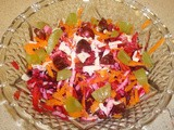 Beetroot and Carrot Relish (Kachumber)