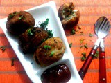 Bread Bonda(Fried bread and potato dumplings)