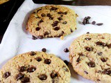 Nutella choco chip cookies recipe|eggless nutella choco chip cookie recipe