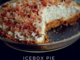 Pineapple Coconut icebox pie|Guest post