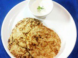 Potato pancakes|Eggless potato pancakes