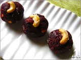 Beetroot Rava Laddo