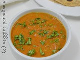 Peas masala gravy - step by step