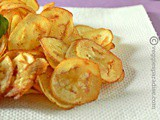 Raw banana chips - vazhakkai chips