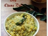 Ridge gourd with chana dal