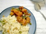 Vegetable rice | vegetable pulao