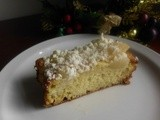 Snow Flake Cake - White Chocolate Pear Cake