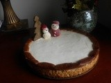 White Christmas Cheesecake