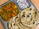 Easy & Quick Method of Mixed Vegetable Sabzi - Sidedish for Roti / Chapathi